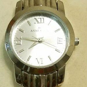 Anne Klein Stainless Steel Link Watch
